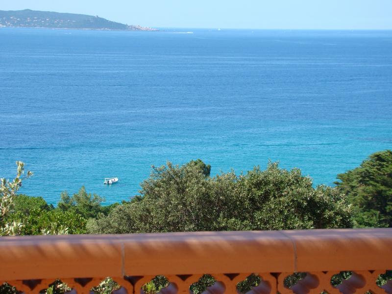 Vista dal terrazzo Affitto Villa  79457 Propriano
