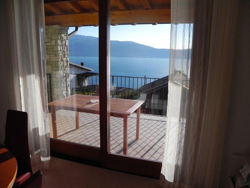 Vista dal terrazzo Affitto Appartamento 80837 Toscolano-Maderno