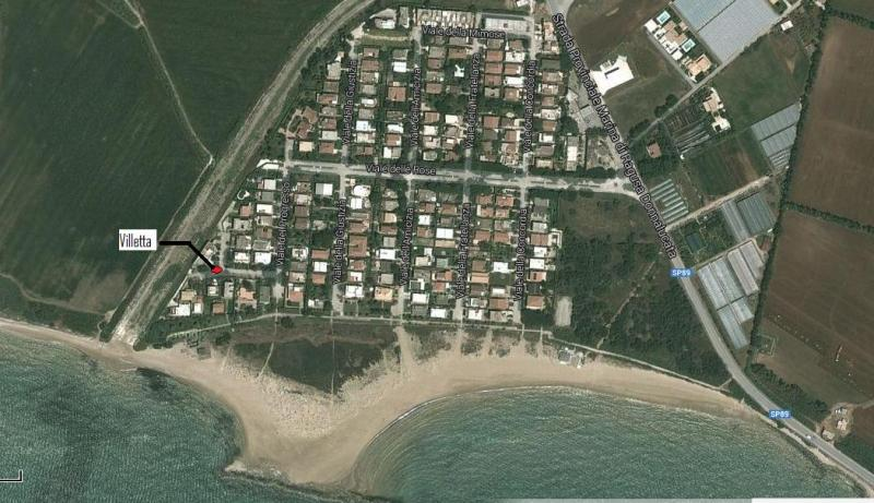 Mappa Affitto Casa 81964 Marina di Ragusa
