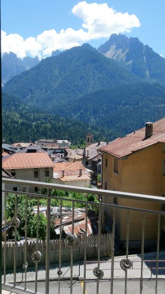 Vista dal terrazzo Affitto Appartamento 85967 Auronzo di Cadore