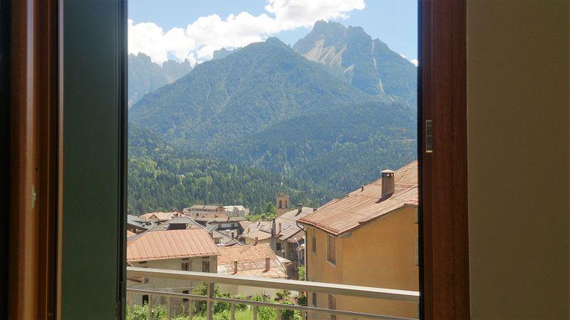 Vista dal balcone Affitto Appartamento 85967 Auronzo di Cadore