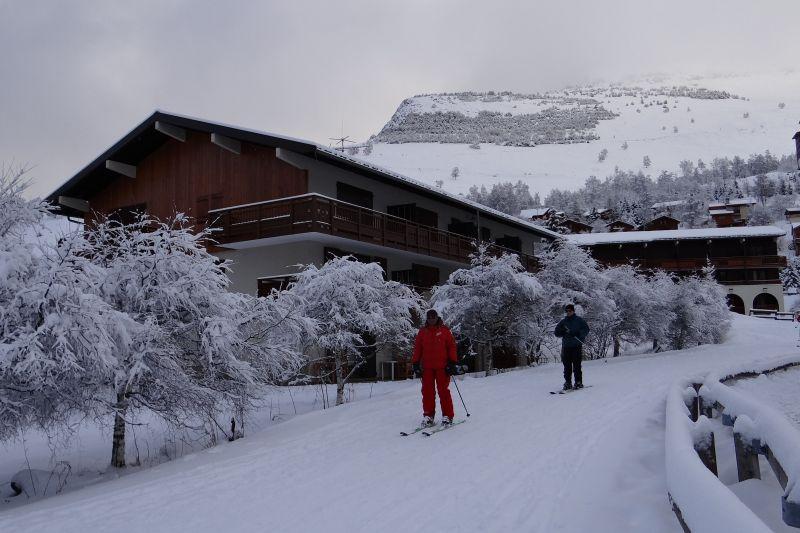 Vista esterna della casa vacanze Affitto Appartamento 93391 Les 2 Alpes