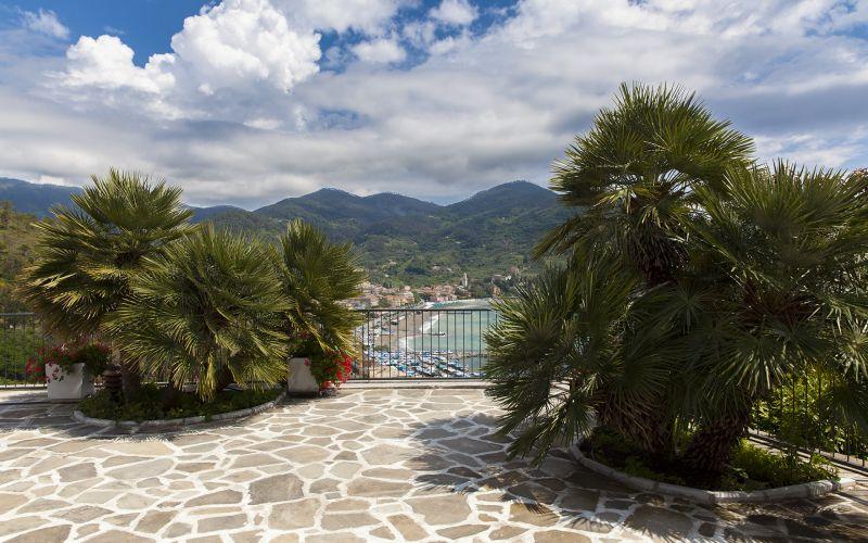 Vista dal terrazzo Affitto Villa  100451 Levanto