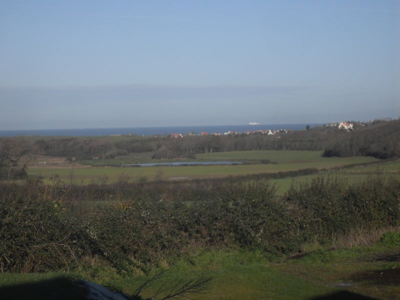 Vista dal terrazzo Affitto Agriturismo 100930 Wissant
