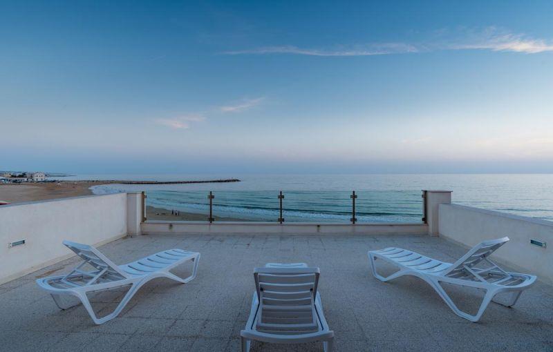 Vista dal terrazzo Affitto Appartamento 102671 Donnalucata