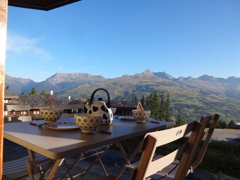 Vista dal terrazzo Affitto Appartamento 108308 Montchavin les Coches