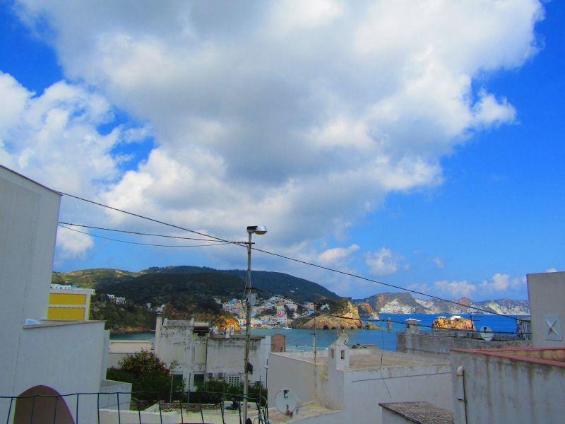 Vista dalla casa vacanze Affitto Villa  113425 Ponza