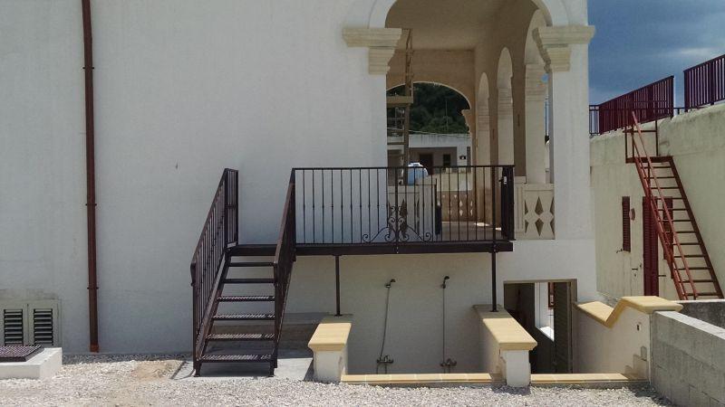 Vista esterna della casa vacanze Affitto Appartamento 113980 Torre Vado