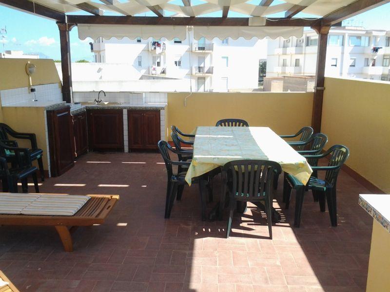 Vista dal terrazzo Affitto Appartamento 68233 Favignana