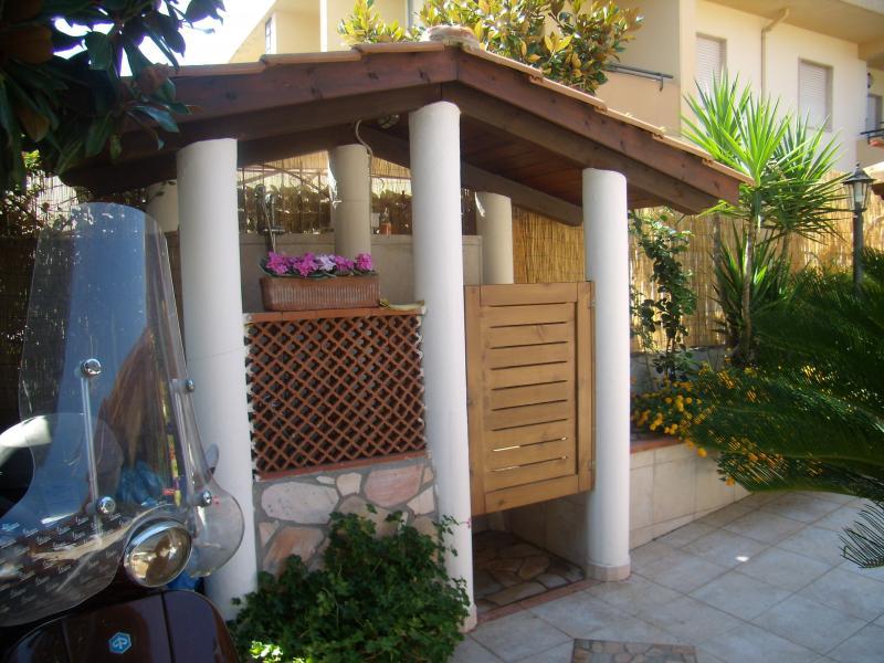 Giardino Affitto Monolocale 69502 Marina di Tortora