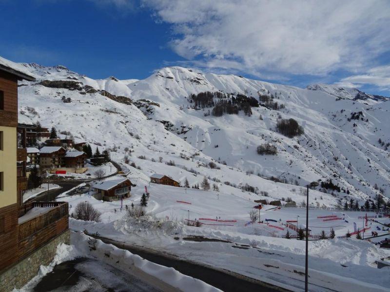 Vista dal balcone Affitto Appartamento 80806 Orcières Merlette