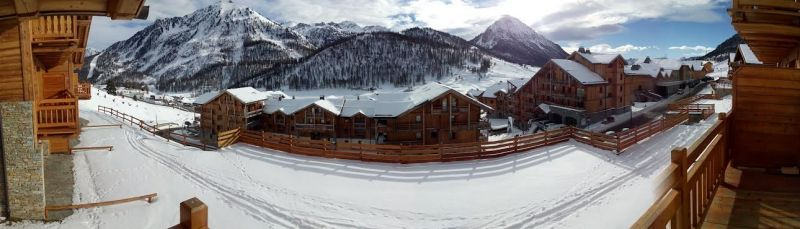 Vista dal balcone Affitto Appartamento 82860 Monginevro
