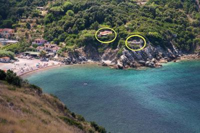 Vista dalla casa vacanze Affitto Appartamento 85148 Rio nell'Elba