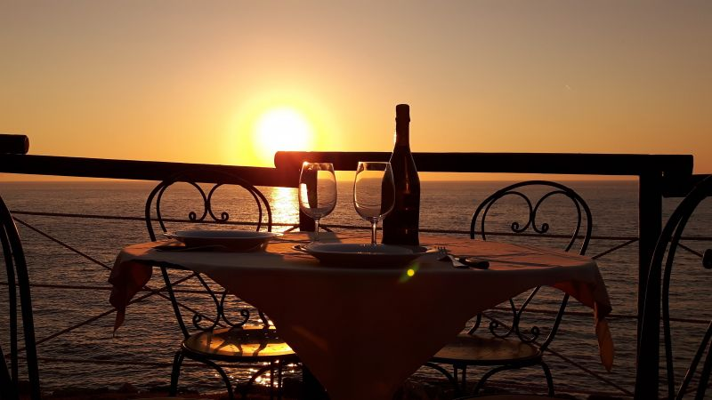 Vista dal terrazzo Affitto Appartamento 85148 Rio nell'Elba