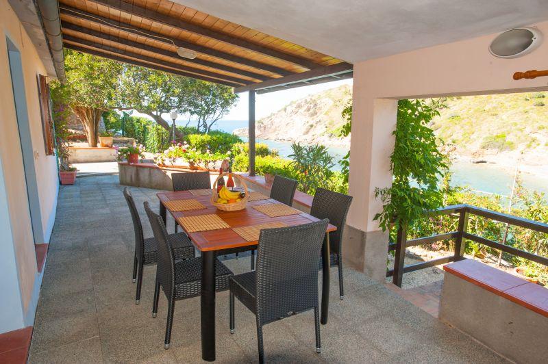 Veranda Affitto Appartamento 85148 Rio nell'Elba