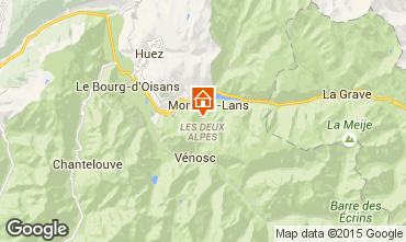 Mappa Les 2 Alpes Chalet 93861