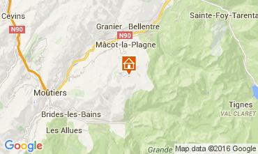 Mappa La Plagne Monolocale 105516