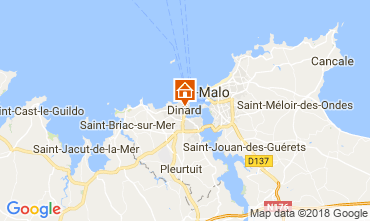Mappa Dinard Monolocale 115838