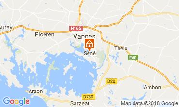 Mappa Vannes Casa 115466