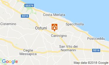 Mappa Carovigno Villa  116335