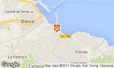 Mappa Dénia Appartamento 71551