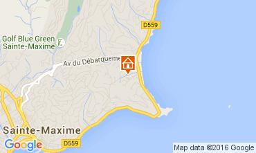 Mappa Sainte Maxime Casa 104932