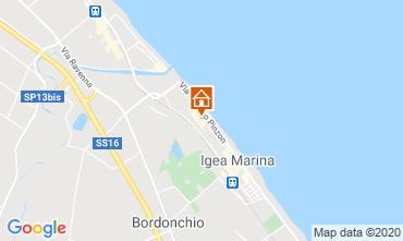 Mappa Bellaria Igea Marina Appartamento 103776