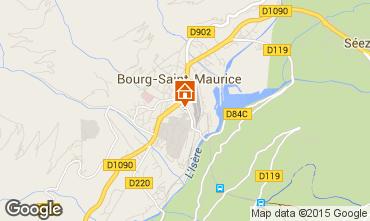 Mappa Bourg saint Maurice Appartamento 96964
