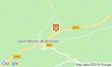 Mappa Gréoux Les Bains Agriturismo 111014