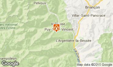 Mappa Puy Saint Vincent Appartamento 56195