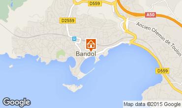 Mappa Bandol Monolocale 71257