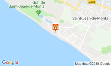 Mappa Saint Jean de Monts Monolocale 119547