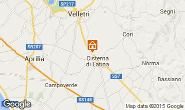 Mappa Cisterna di Latina Appartamento 88326