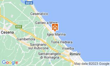 Mappa Bellaria Igea Marina Appartamento 107534