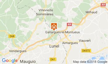 Mappa La Grande Motte Villa  113402
