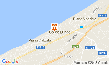 Mappa Campofelice di Roccella Villa  115897