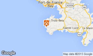 Mappa Anses d'Arlet Appartamento 27269