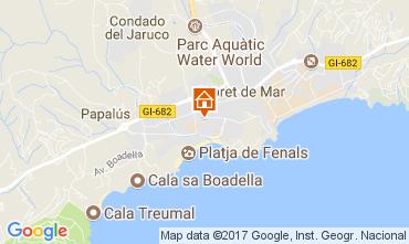Mappa Lloret de Mar Appartamento 82806