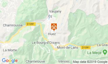 Mappa Alpe d'Huez Appartamento 117395