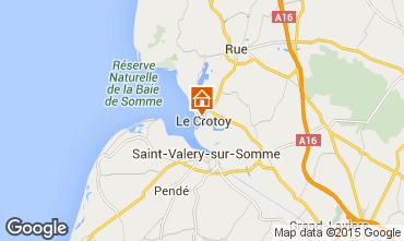 Mappa Le Crotoy Casa 78387