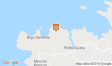 Mappa Baja Sardinia Appartamento 117150