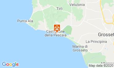 Mappa Castiglione della Pescaia Appartamento 59949