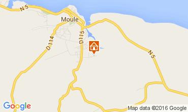 Mappa Le Moule Villa  100796