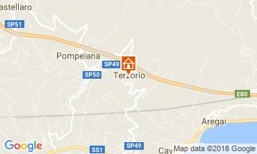 Mappa Santo Stefano al Mare Appartamento 114448