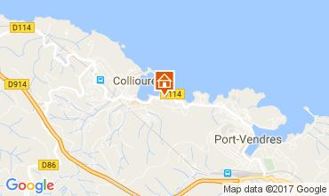 Mappa Collioure Appartamento 98460