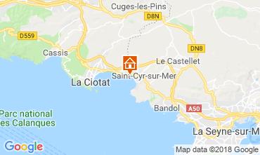 Mappa Saint Cyr sur Mer Monolocale 116399