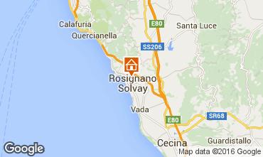 Mappa Castiglioncello Appartamento 83221