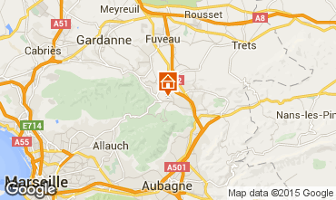 Mappa Aix en Provence Villa  85454
