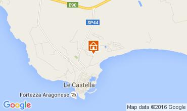 Mappa Le Castella Appartamento 105561