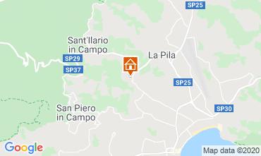 Mappa Campo nell'Elba Appartamento 96709